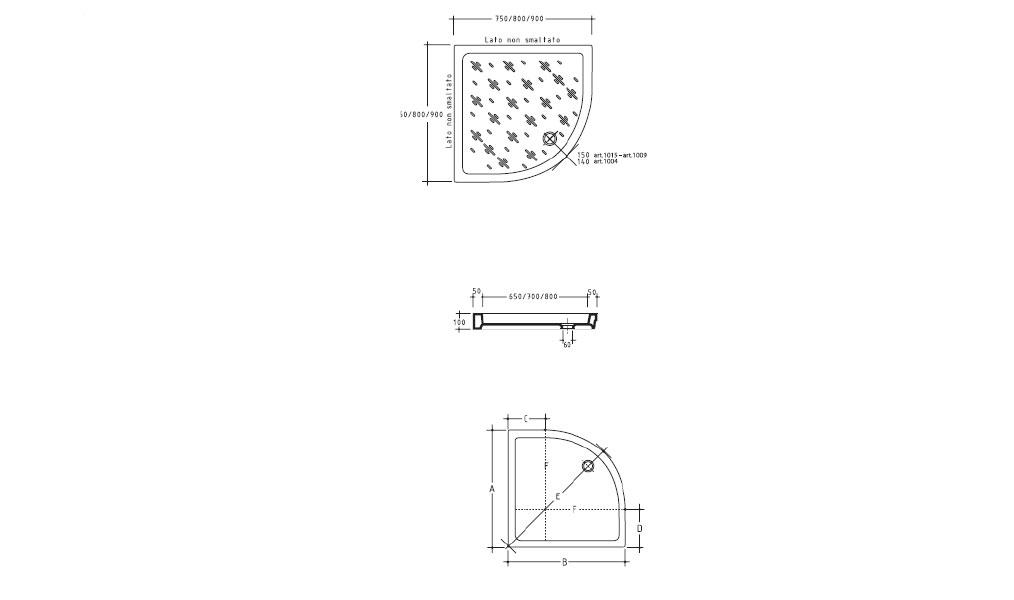 D coration meuble cuisine quart de rond 2317 cuisine for Meuble quart de rond