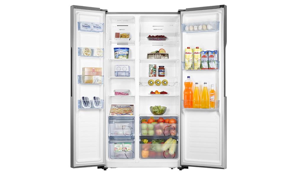 Refrigerateur Side By Side Nrs9182mx Promodar La Ou On Se Ressource